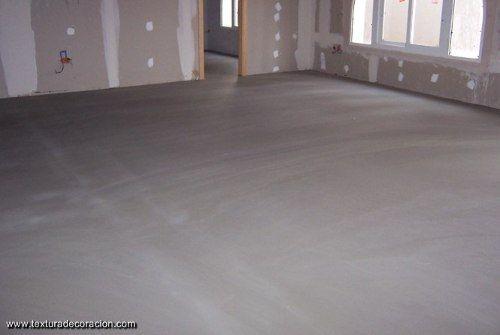 Microcarpeta piso cemento alisado alta resistencia for Cemento pulido exterior
