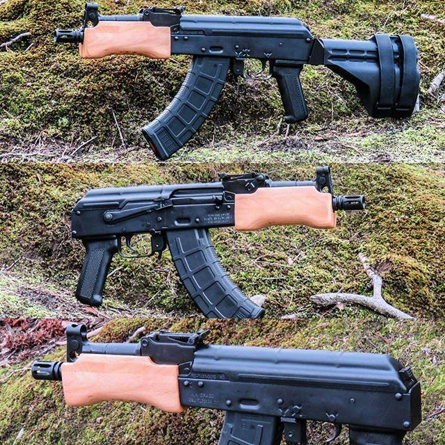 Ak47 pistol with arm brace t