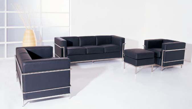 Bauhaus Furniture Sofa Set Le Corbusier Bauhaus