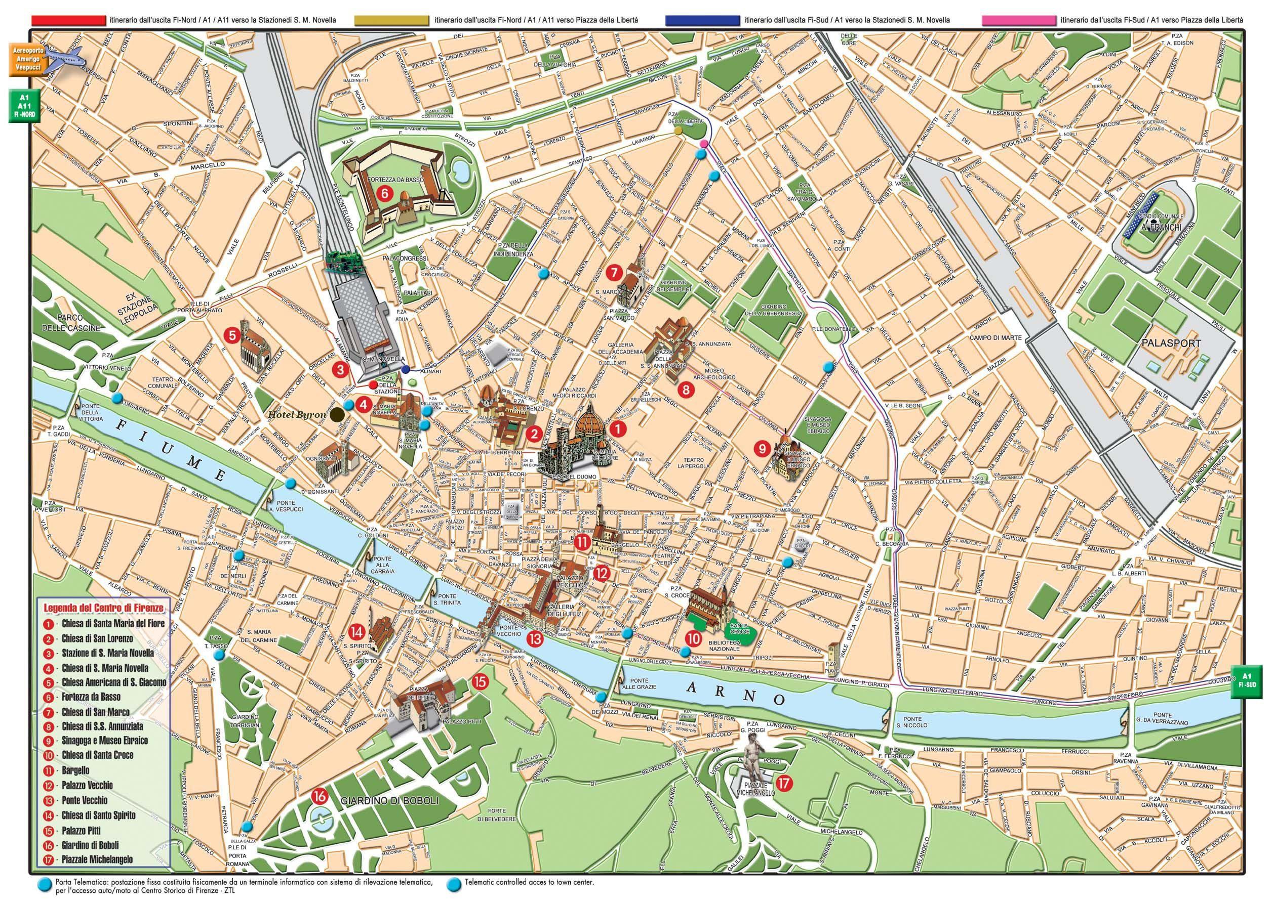Cartina Citta Di Firenze.Mappa Firenze Cartina Di Firenze Mappa Dell Italia