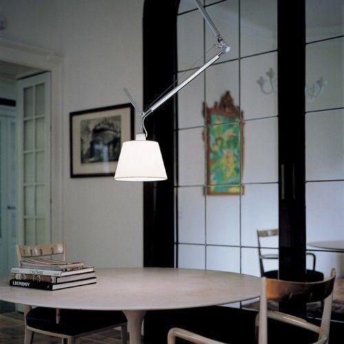 Amazing Mooie lamp Artemide Tolomeo Sospensione Decentrata