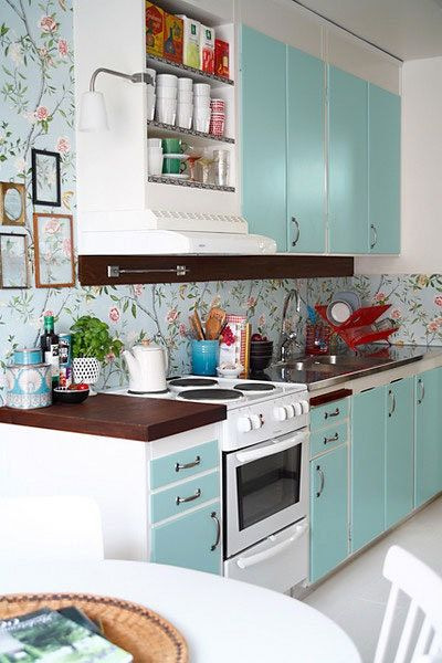 Spruce Up Your Kitchen With Painted Cabinets Apartment Therapy