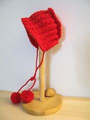 Ravelry: Christmas bonnet pattern by Maria M. Bares