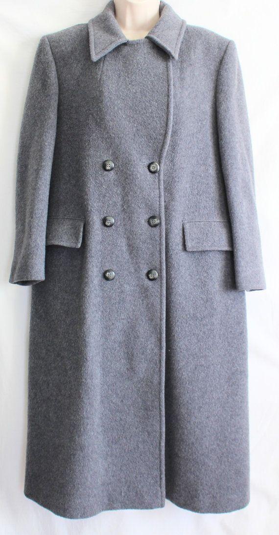 Vintage Pendleton Coat / Size 8 Womens 100% by ThirdHandShoppe