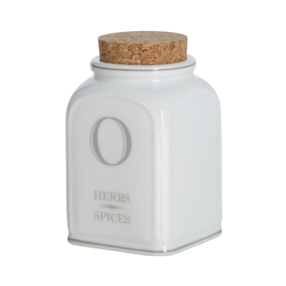 barattolo #ceramica #cucina #design #bianco | Arredare Total White ...