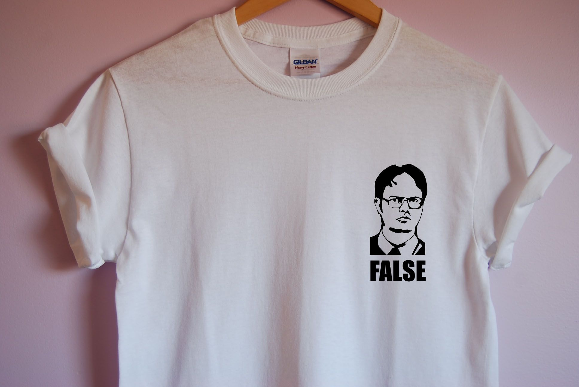 c21c1240 The Office Dwight Schrute False T-Shirt sold by TVTees. Shop more products  from TVTees on Storenvy, the home of independent small businesses all over  the ...