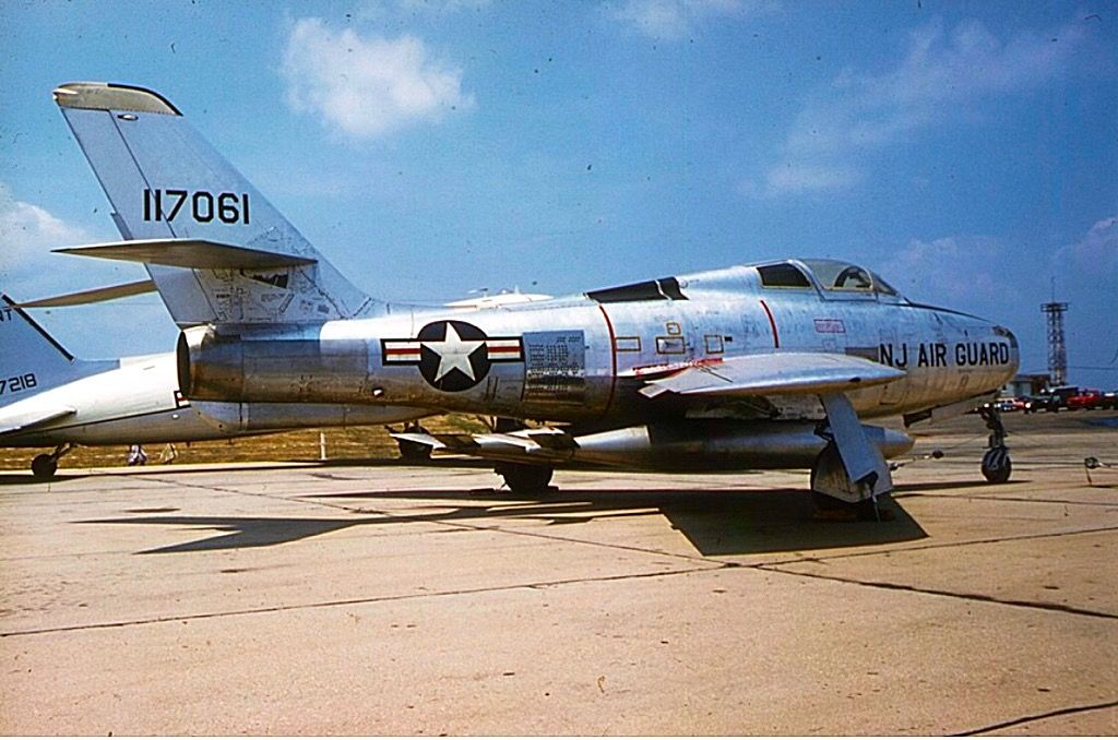 New Jersey Air National Guard Republic F84F Thunderstreak