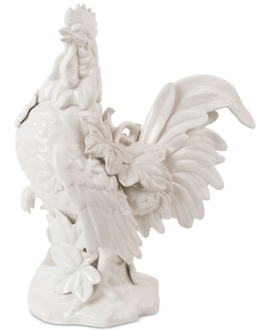 Fitz and Floyd Earthenware Bristol Rooster Figurine