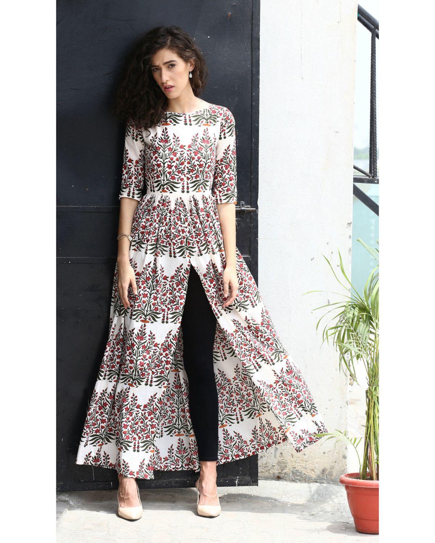 ReadytoWear Signature Designer Print  Shahida   Parides