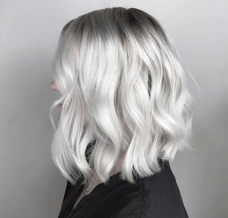 Silver Hair White Hair Gray Hair Old Lady Hair Color White Hair