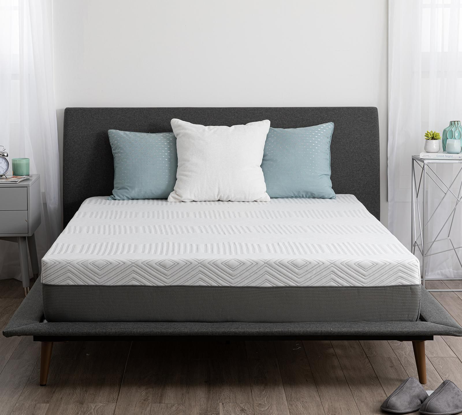 Sleepy S Doze 10 Plush Memory Foam Mattress In 2020 Memory Foam Mattress Memory Foam Mattress Bed Frame Mattress