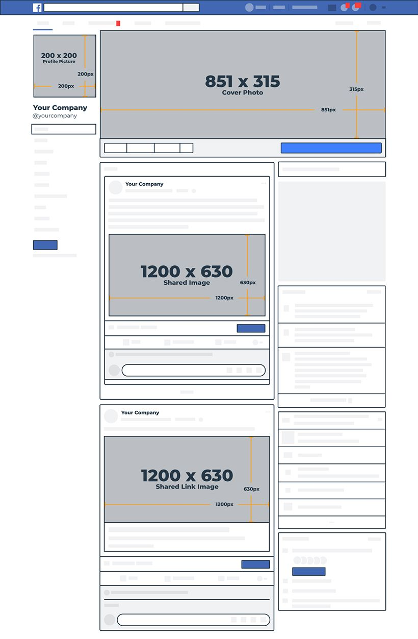 2019 Social Media Image Dimensions [Cheat Sheet] (With