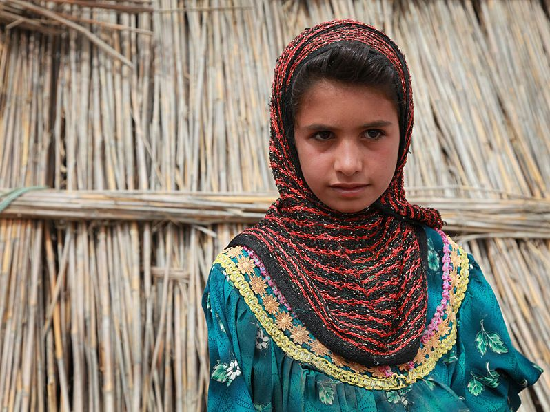 Marsh Arab child