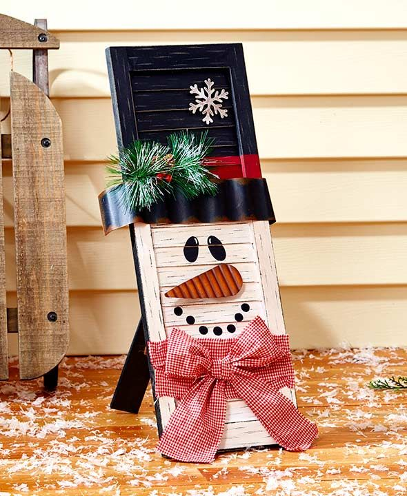 wooden holiday shutters christmas images pinterest holidays
