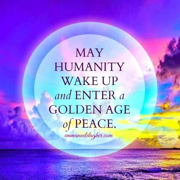 May Humanity Wake Up Peace Positive Affirmations Happy Hippie Quotes