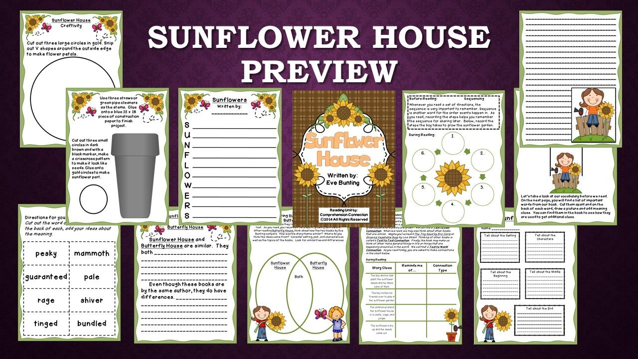 response to the book sunflower Start studying the sunflower learn vocabulary, terms, and more with flashcards, games, and other study tools search create what is josek's response.