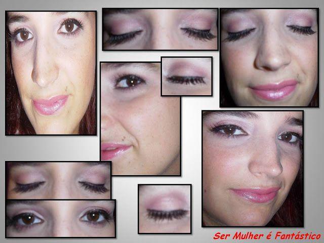 """Make Rose + false eyelashes -> month of October Breast Cancer"" by carla ribeiro"