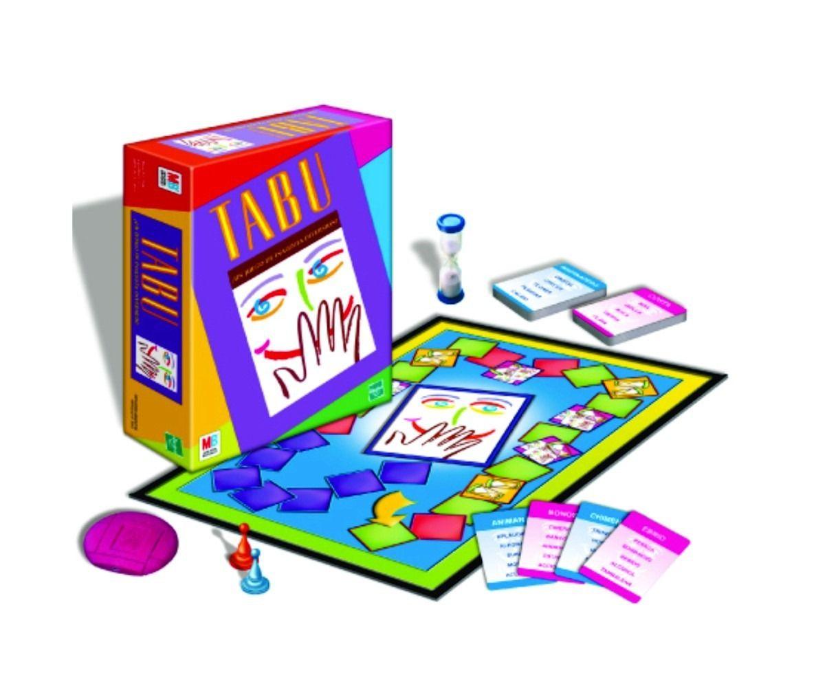 tabu juego de mesa de hasbro envio sin cargo en caba 14411