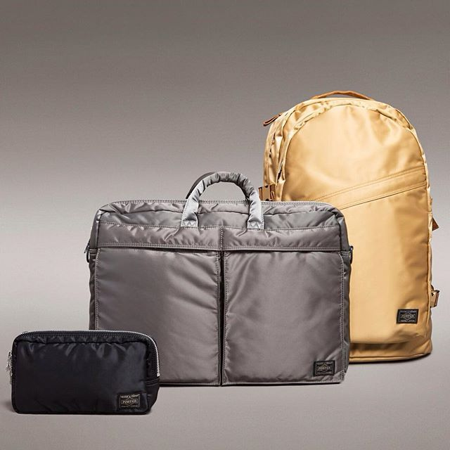 Gold star  Boss bags by cult Japanese brand Porter-Yoshida.  Discover more at http://ift.tt/1LJOcdK link in bio. #WallpaperSTORE #RefinedStuff #PorterYoshida #Design