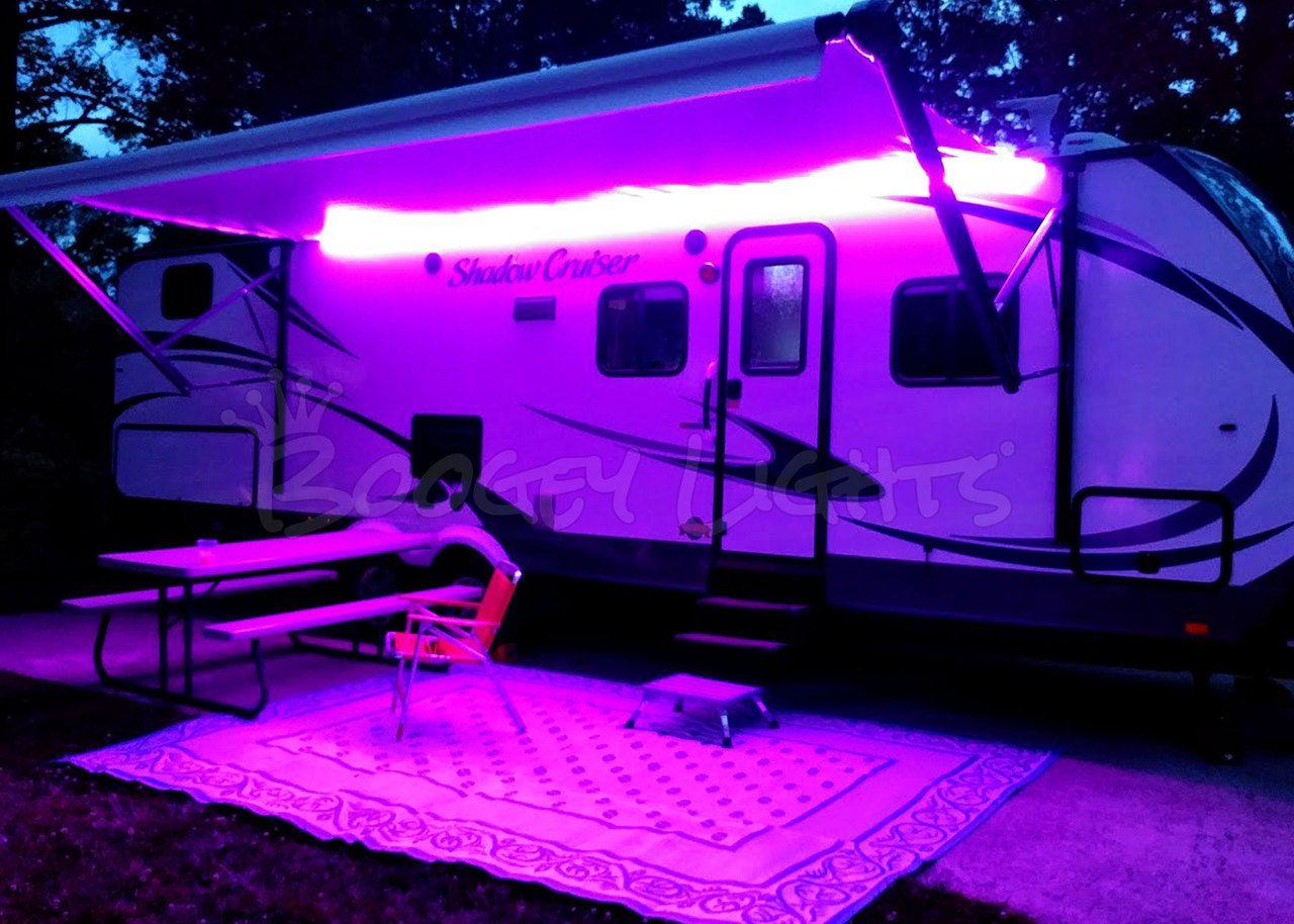 Rv Multi Color Led Awning Kit Awning Lights Multi Color Led Rv