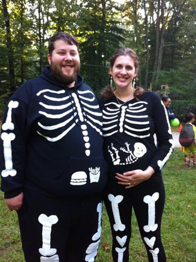 pregnant-skeleton-costume | Funny Stuff | Pinterest | Pregnant ...