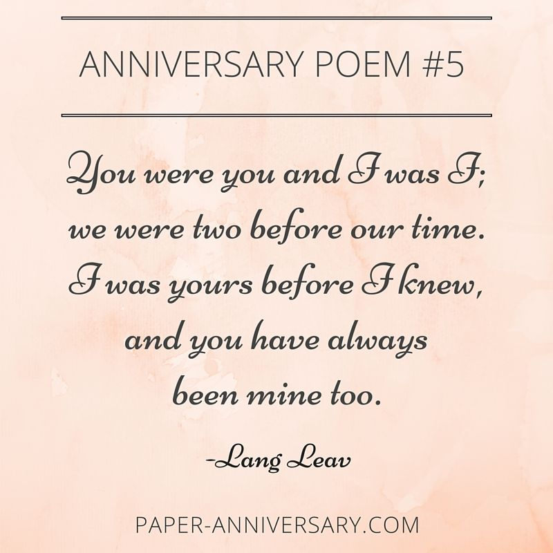 poems for him on our anniversary
