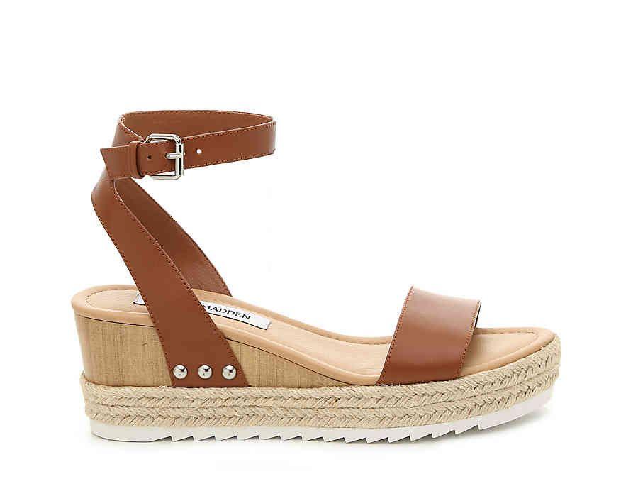 steve madden jewel espadrille wedge sandal white
