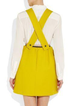 yellow pinafore dress - Google Search