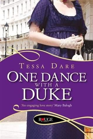UK cover for One Dance with a Duke by Tessa Dare