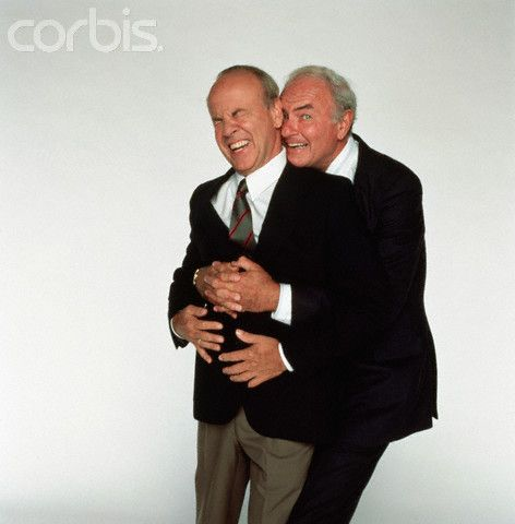 "Harvey Corman and Tim Conway... Two very funny guys often appeared together on, ""The Carol Burnett Show""."