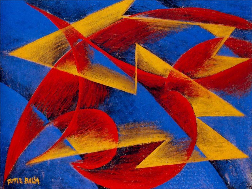 Giacomo Balla (Italian, 1871-1958) Line of Speed 19143