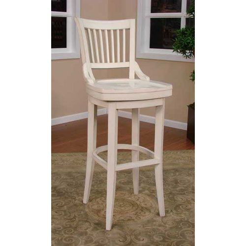 Liberty Antique White Bar Stool