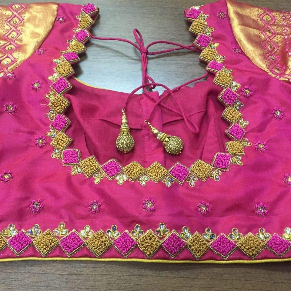 Pin by Nidhi on nidhi  Pinterest  Blouse designs Blouse and Work