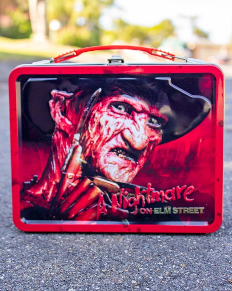 Nightmare on Elm Street Embossed Tin Lunch Box