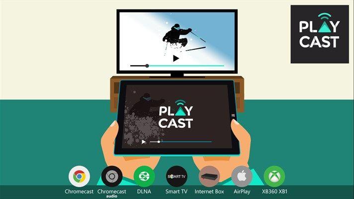 Playcast – L'app per effettuare lo streaming su numerosi device da
