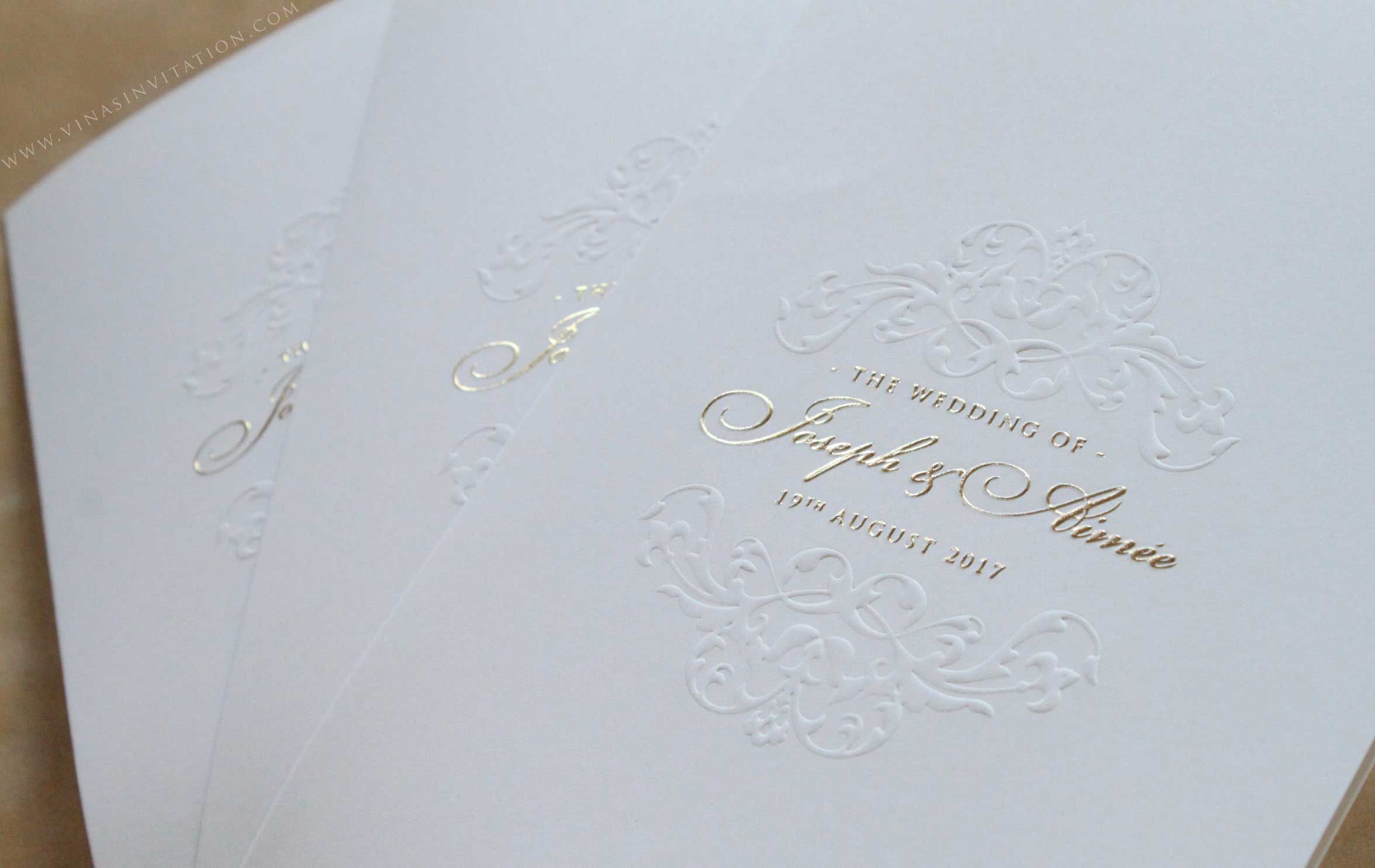 Vinas invitation. vinas sydney. sydney wedding invitation ...
