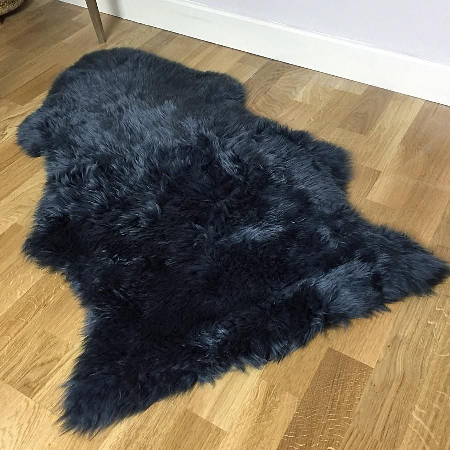 Sumptuous Seal Grey Sheepskin Rug (With images) Grey