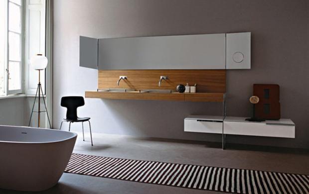 Wohnen mit Farben - Wandfarben fürs Badezimmer - farben fürs badezimmer