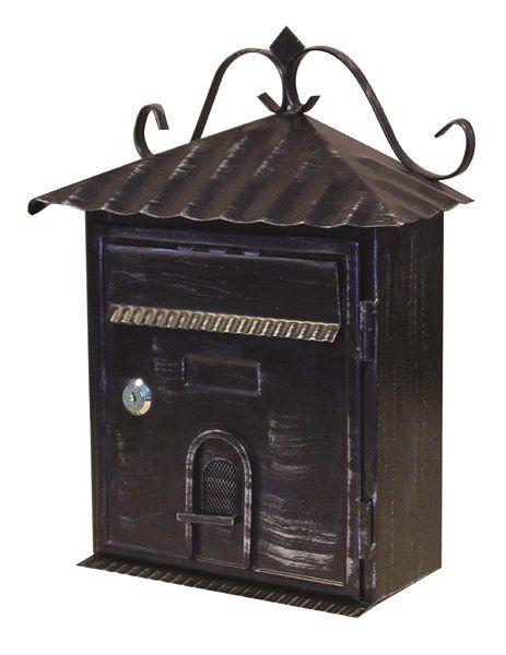 Fine Art Lighting Ltd Fine Art Lighting Ltd Black Vintage Locked Mailbox Sb08 Rona Wall Mount Mailbox Mounted Mailbox Fine Art Lighting