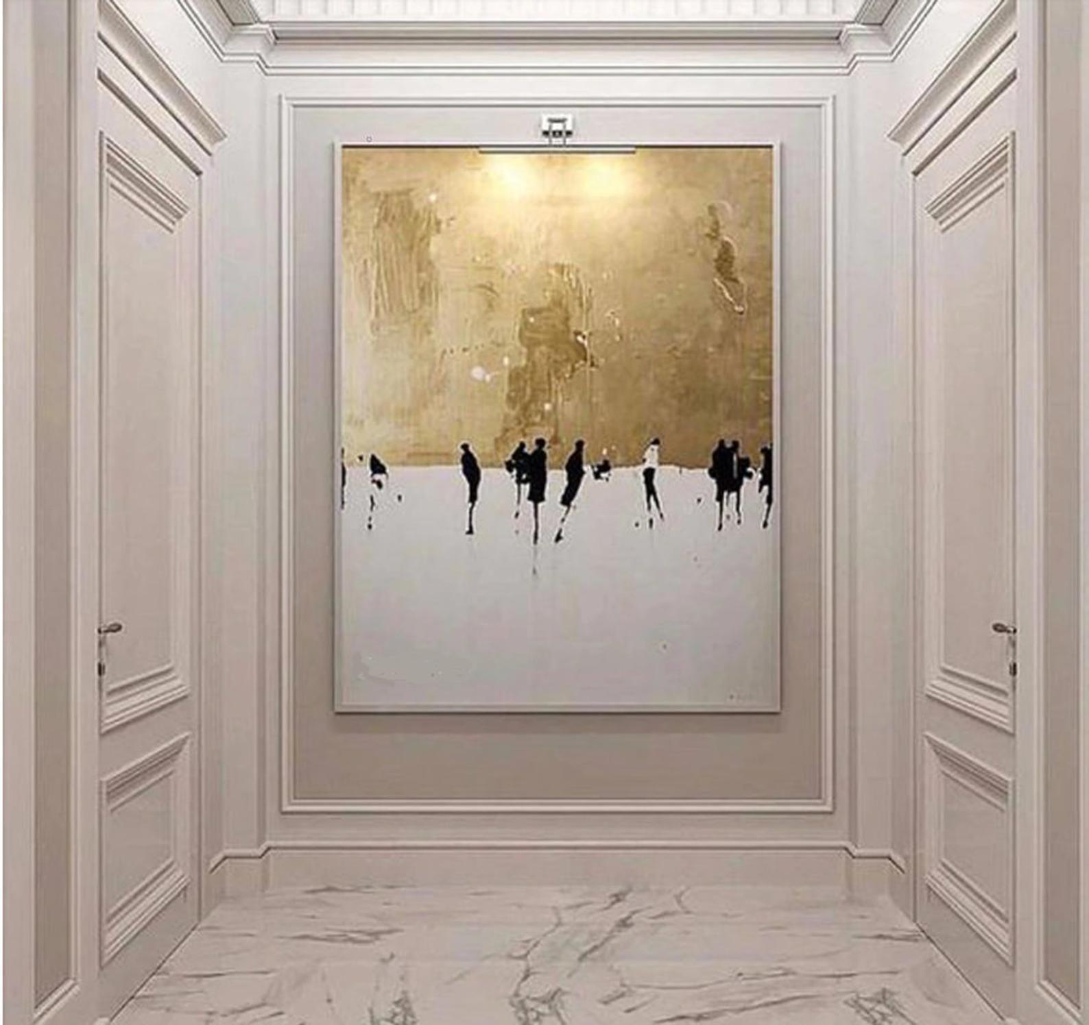 LARGE MODERN ABSTRACT Wall Art - Original Abstract