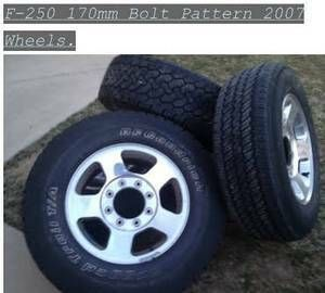 Ford Truck F-250 Rims Wheels + Expedition Rims OEM   Bolt ...