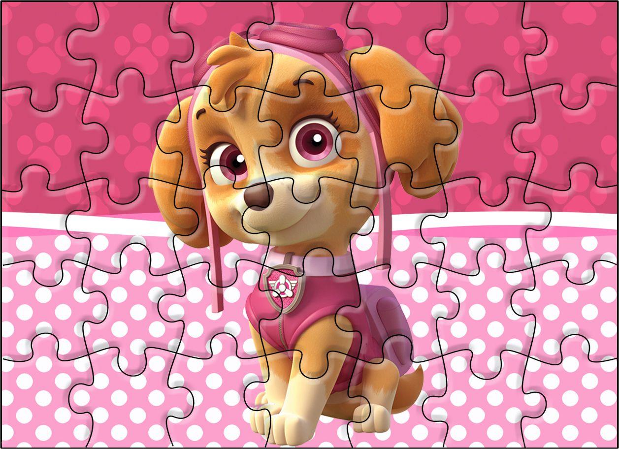Quebra Cabeca Patrulha Canina Para Meninas Fazendo A Nossa Festa Quebra Cabeca Patrulha Canina Patrulha Canina Decoracao Patrulha Canina