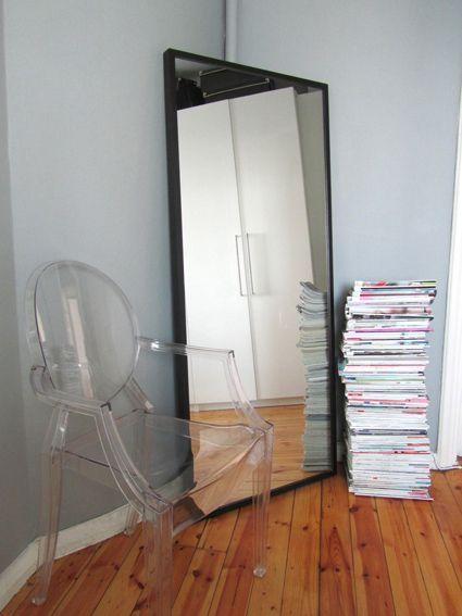 Big Mirror #bedroom #Ikea #stave #mirror #pengerkatu #LouisGhost ...