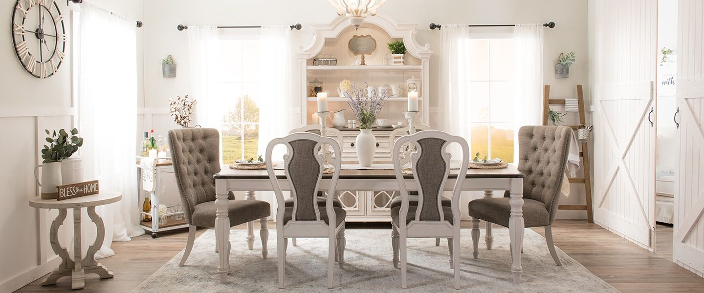 Scarlett Dining Dining Room Collections Bobs Com Dining Room Style Rooms Home Decor Home Decor
