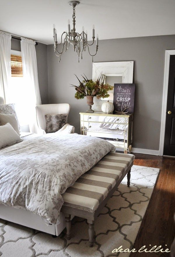 Dear Lillie Fall Home Tour I Love This Peaceful Bedroom Makin