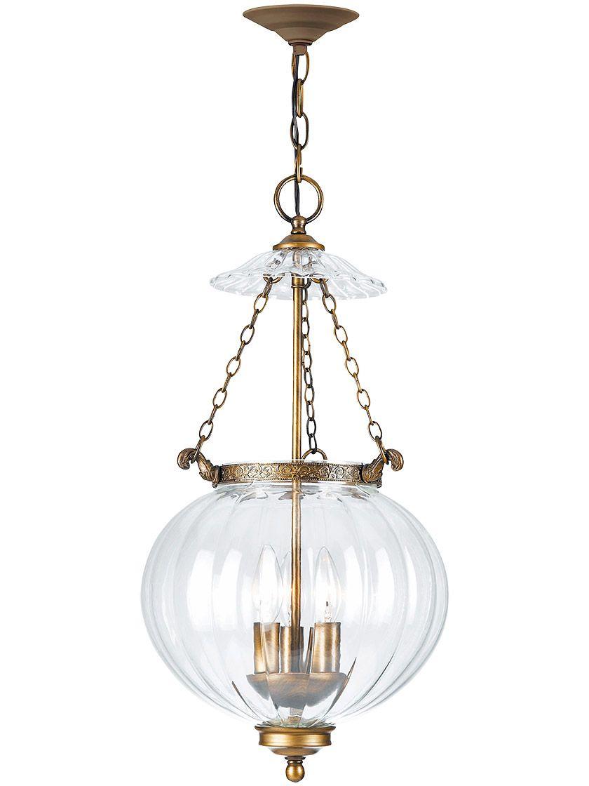 camden medium federal style pendant with mellon glass shade house rh pinterest com