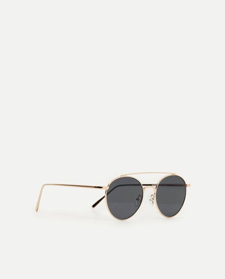 Lunettes de soleil rondes Zara Cool Eyes, Zara United Kingdom, Sunglasses  Women, Eyewear a4a71114fe19