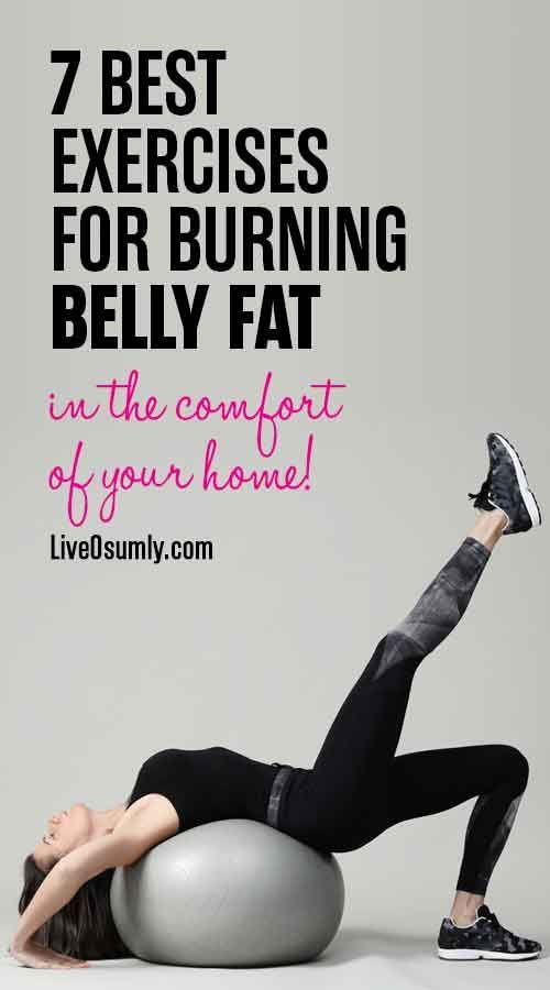 Lose belly fat and flatten your tummy with these 7 simple yet very effective fat burning workouts at...