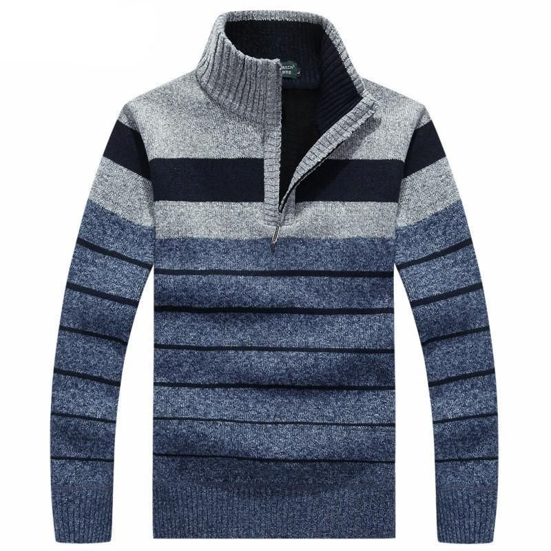 Men's Sweaters Thickening Warm Casual Winter Pullover