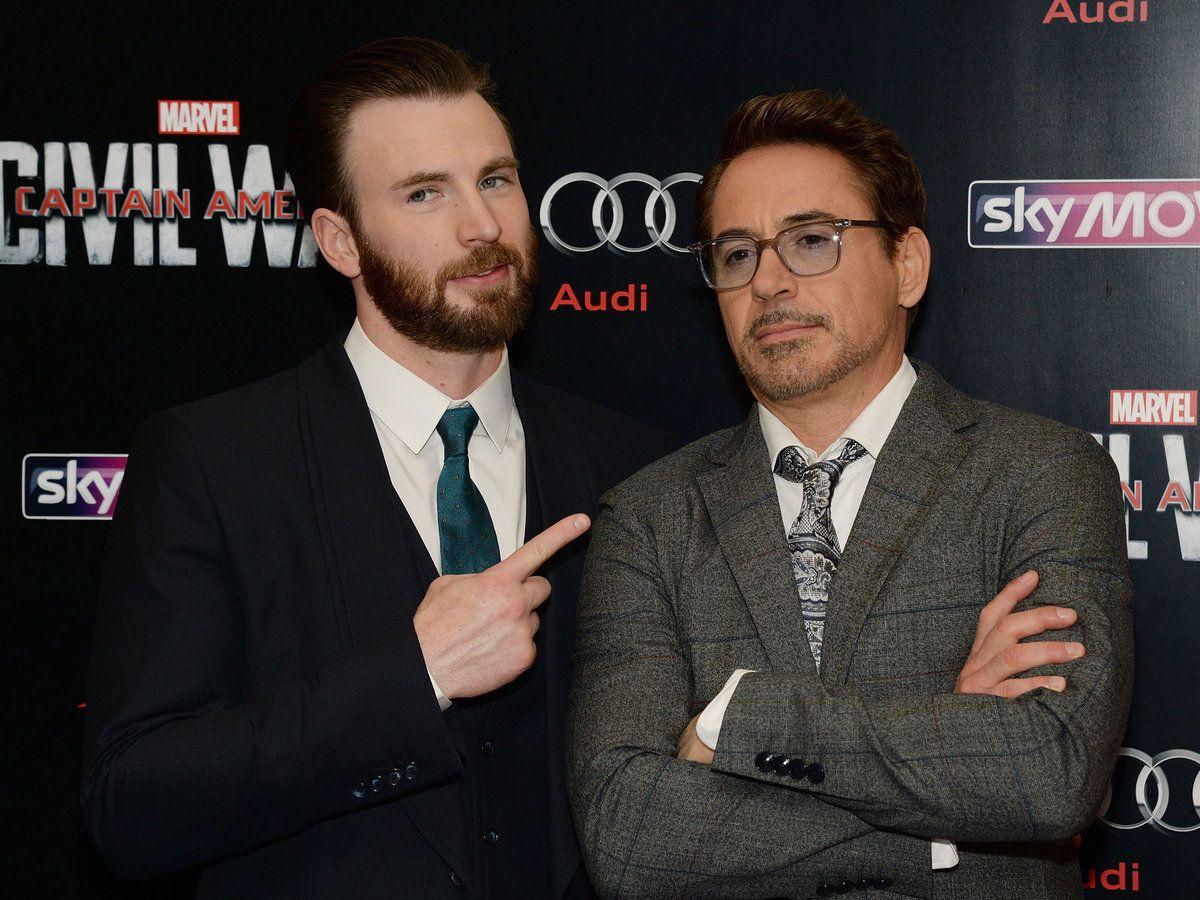 Chris Evans and Robert Downey Jr. Had an Adorable Dinner Date in Atlanta  This Weekend